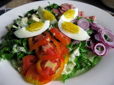 A Healthy Diet Choice:  Garden Fresh Salads