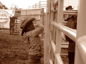 Being Cowboy-Kid at the Rodeo